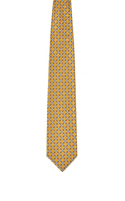 Floral Satin Jacquard Necktie by Ermenegildo Zegna in Inherent Vice