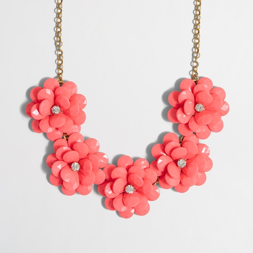 Crystal Floral Burst Necklace by J.Crew Factory in Lady Dynamite -  Preview
