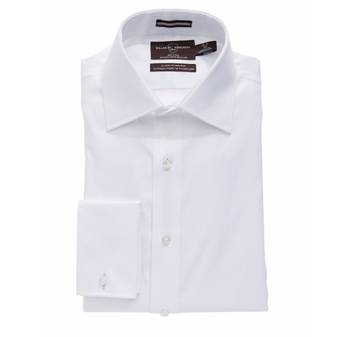 Solid French Cuff Dress Shirt by Black Brown 1826 in The Good Place - Season 1 Preview