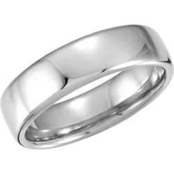Light Comfort-Fit Band Ring by The Men's Jewelry Store in Ballers