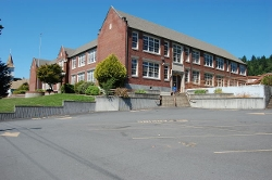 Kalama, Washington by Kalama High School (Depicted as the exterior of Forks High School) in Twilight