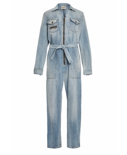 Hand Washed Denim Jumpsuit by Sea in Keeping Up With The Kardashians
