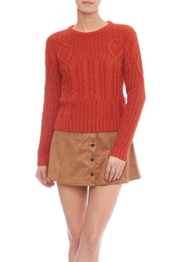 Cable Knit Sweater by Dex in Unbreakable Kimmy Schmidt