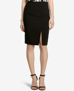 Crepe Pencil Skirt by Lauren Ralph Lauren in Power