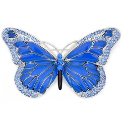 Butterfly Crystal Brooch by Fantasyard in (500) Days of Summer