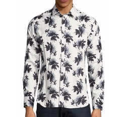 Floral Print Button Down Shirt by Paul and Joe in Empire