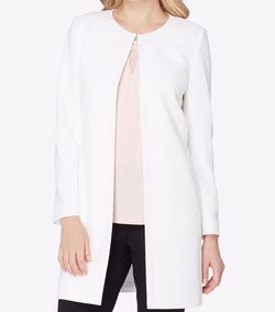 Jacquard Topper Jacket by Tahari ASL in The Good Fight