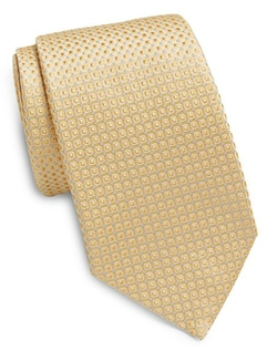 Neat Squares Silk Tie by Valentino in Suits