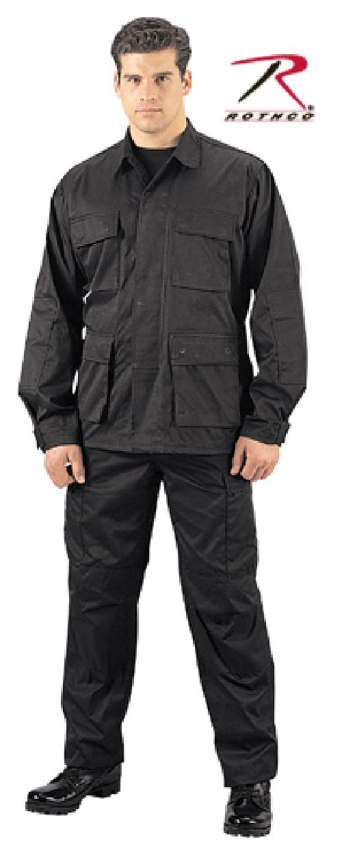 Cotton Rip-Stop BDU Pants by Rothco in Sabotage