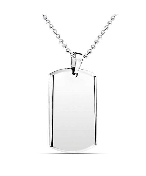 Dog Tag Pendant Necklace by Bling Jewelry in Kill Bill: Vol. 2