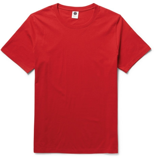 Pima Cotton-Jersey T-shirt by NN.07 in Man of Tai Chi
