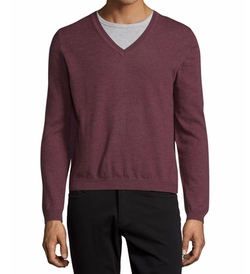 Long-Sleeve V-Neck Wool Sweater by Just Cavalli in The Flash