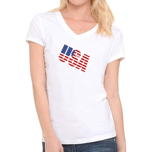 V Neck T-Shirt by Jitshirt in Everybody Wants Some