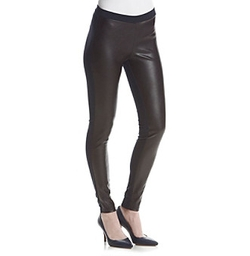 Faux Leather Front Ponte Pants by Michael Kors in The Flash
