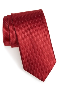 Silk Solid Tie by Canali in Steve Jobs