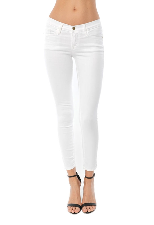 Le Color Crop Jean by Frame Denim in Keeping Up With The Kardashians - Season 12 Episode 15