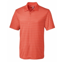 Drytec Franklin Stripe Polo Shirt by Cutter & Buck in Silicon Valley