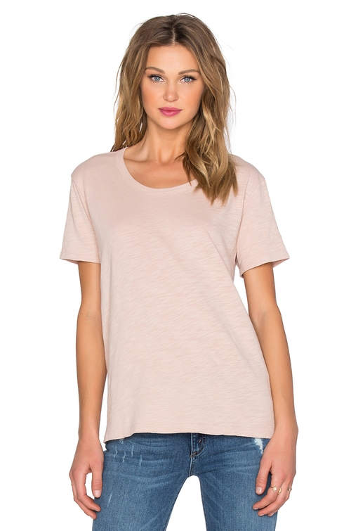 Slub Baby Crew Neck T-Shirt by Wilt in Keeping Up With The Kardashians - Season 12 Episode 6