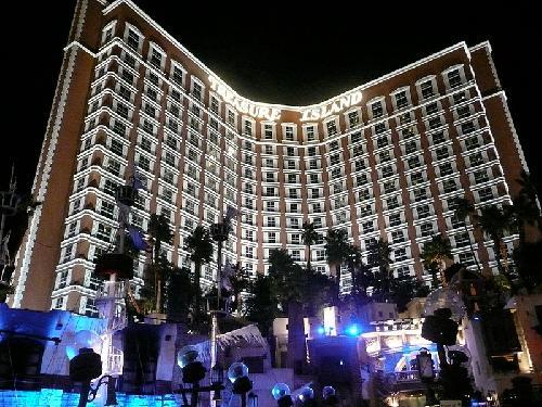 Treasure Island Hotel & Casino Las Vegas, Nevada in Godzilla