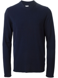 Crew Neck Sweater by Armani Collezioni in Steve Jobs