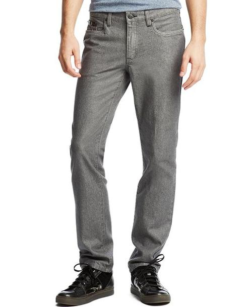 Coated Straight Fit Jeans by Kenneth Cole Reaction in The Maze Runner
