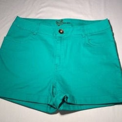 Teal Shorts by Copper Key in Pitch Perfect 2