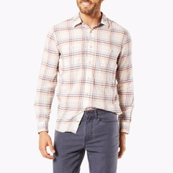Premium Wrinkle Twill Shirt by Dockers in New Girl