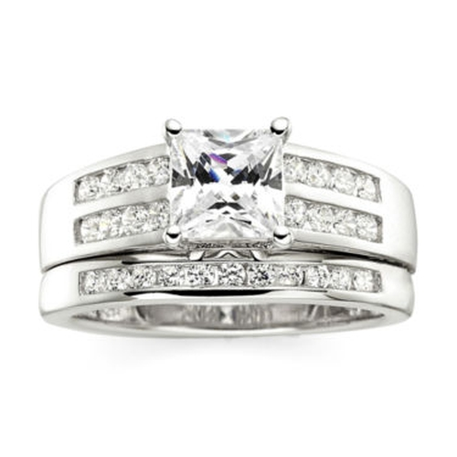 Sterling Silver Bridal Ring by DiamonArt in Clueless