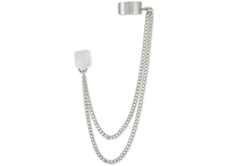 Silver-Tone Chain Ear Cuff Earrings by French Connection in Jem and the Holograms