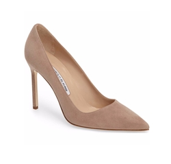 BB Pointy Toe Pumps by Manolo Blanhnik in Suits