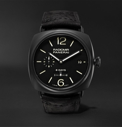 Radiomir 8 Days Ceramica Suede Watch by Officine Panerai in The Fate of the Furious