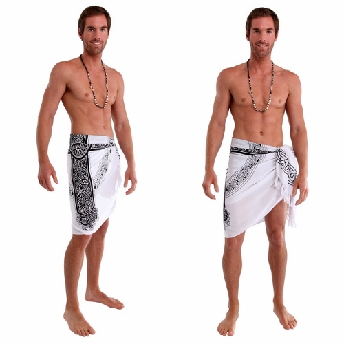 Celtic Cross Sarong Wrap by 1 World Sarong in Magic Mike XXL