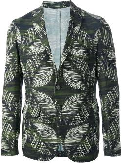 Leaf Print Blazer by Dsquared2 in Hot Tub Time Machine 2