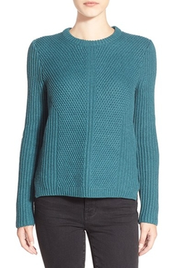'Holcomb' Texture Sweater by Madewell in Midnight Special