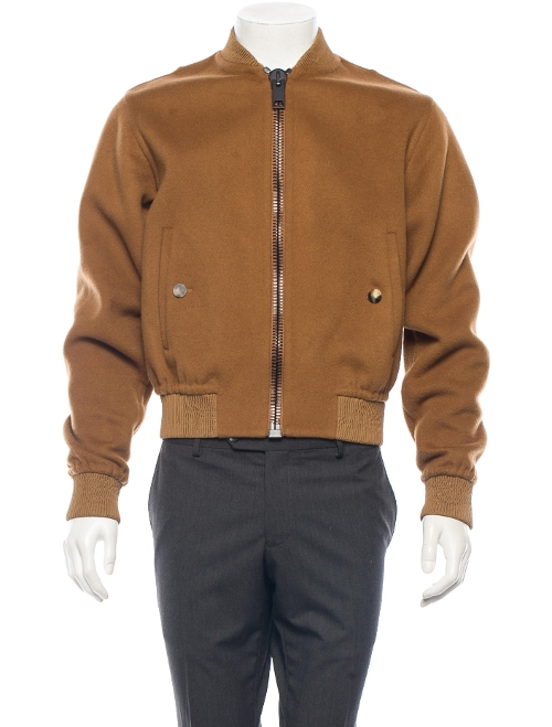 Cashmere Bomber Jacket by Calvin Klein Collection in The Hangover