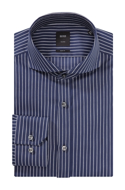 Cotton Striped Dress Shirt by Boss Hugo Boss in Secret in Their Eyes