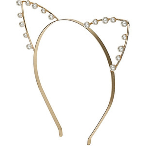 Pearl Cat Ear Headband by Topshop in Scream Queens - Season 1 Episode 10