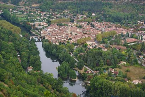 Saint-Antonin-Noble-Val France in The Hundred-Foot Journey