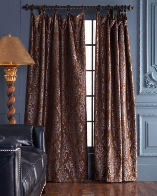 """Castella"" Curtains by Horchow in The Great Gatsby"