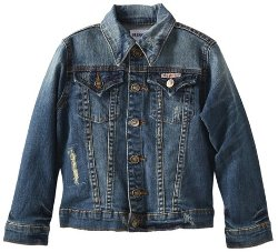 Big Girls' Denim Jacket by Hudson Jeans in If I Stay