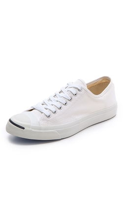 Jack Purcell Canvas Sneakers by Converse in Savages