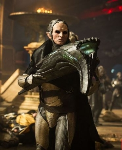 Custom Made Dark Elf Costume (Malekith) by Wendy Partridge (Costume Designer) in Thor: The Dark World