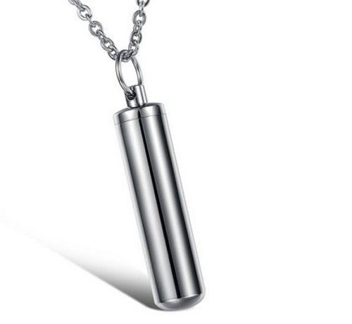 Stainless Message Bottle Pendant Necklace by Beauty & Love in Little Fockers