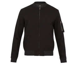 Félix Cotton Bomber Jacket by A.P.C. in Shadowhunters