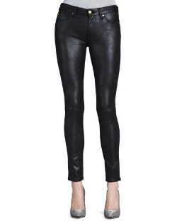 Leather-Like Skinny Jeans by 7 For All Mankind in Magic Mike XXL