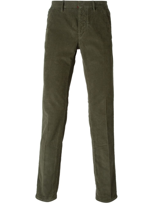 Corduroy Trousers by Incotex in Elementary - Season 4 Episode 5