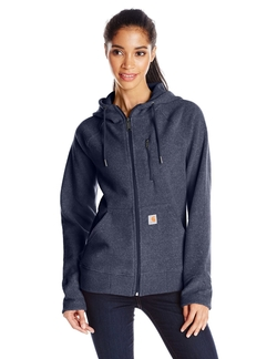 Women's Kentwood Fleece Jacket by Carhartt in Everest