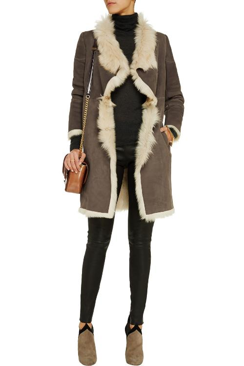 Shearling Coat by Karl By Karl Donoghue in The Wolverine