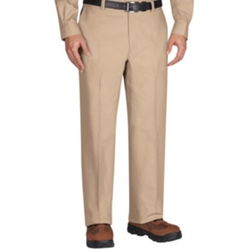 Plain-Front Work Pants by Wrangler Workwear in The 33