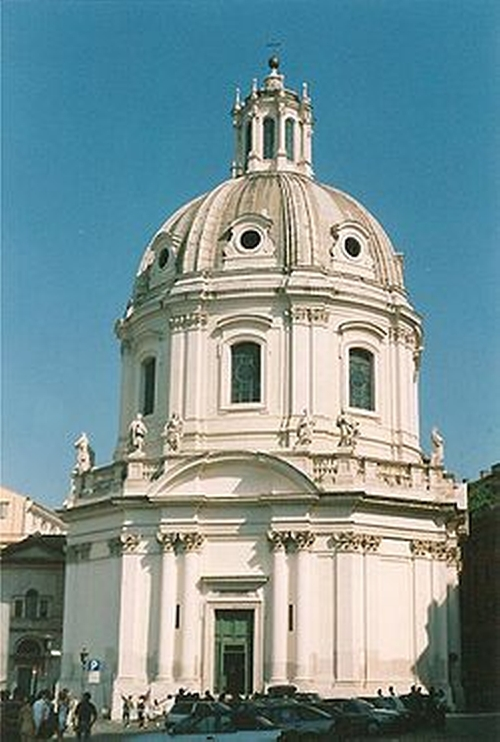 Santissimo Nome di Maria al Foro Traiano Church Rome, Italy in The Man from U.N.C.L.E.